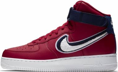 Nike Air Force 1 07 High LV8 - Gym Red//White-Blue