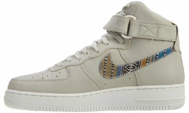 Nike Air Force 1 07 High LV8 Light Bone/Light Bone Men