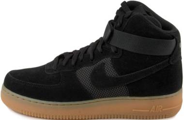 Nike Air Force 1 07 High LV8 - Black/Black/Gum Light Brown