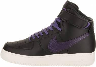 Nike Air Force 1 07 High LV8 - black court purple sail 014
