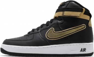 Nike Air Force 1 07 High LV8 - black, gold