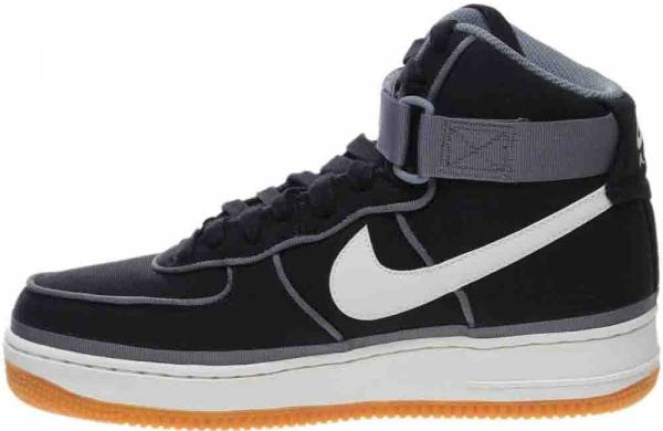 new arrivals c852a 80d90 Nike Air Force 1 07 High LV8 Black Sail-team Orange