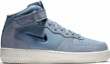 sports shoes b1699 fc233 Nike Air Force 1 07 Mid LV8 Ashen Slate Blue Void Summit White Men