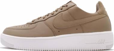 Nike Air Force 1 UltraForce Leather - Khaki/Khaki-summit White