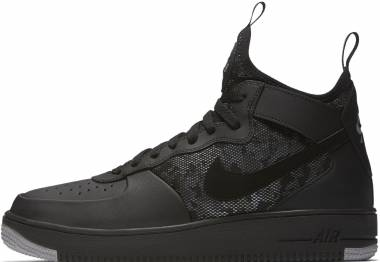 Nike Air Force 1 UltraForce Mid - Black/Wolf Grey/White (864014004)