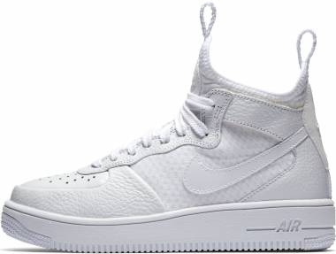 wholesale dealer 41052 90b31 Nike Air Force 1 UltraForce Mid White White-white Men