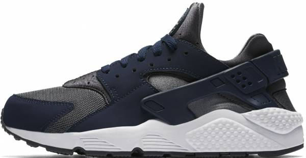 hot sale online 16555 89f27 Nike Air Huarache Dark Grey Midnight Navy