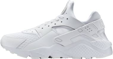 nike air huarache triple white