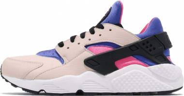 new product 14105 9c405 Nike Air Huarache Desert Sand Persian Violet Black Men