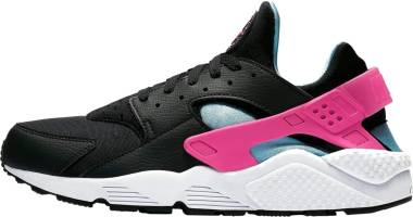 Nike Air Huarache Black/Laser Fuchsia/Blue Gale/White Men
