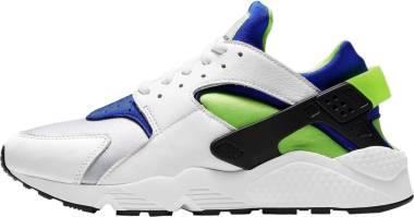 Nike Air Huarache - White Scream Green Royal Blue Black (DD1068100)