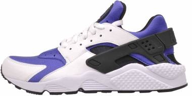 Nike Air Huarache SE - WHITE/BLACK-PERSIAN VIOLET (AT4254100)
