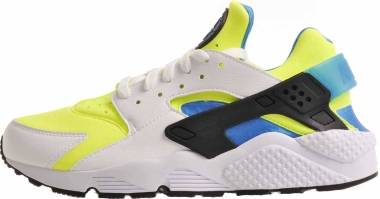 Nike Air Huarache SE - White / Volt / Black / Photo Blue (AT4254101)