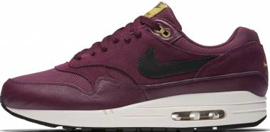new arrival 8ae2d ce8ff Nike Air Max 1 Premium Bordeaux Black-Desert Moss Men