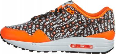 Nike Air Max 1 Premium - Multicolore (Black/Black/Total Orange/White 008)