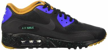 Nike Air Max 90 Ultra Essential - Black Blue Verde Black Black Rcr Blue Emrld Grn