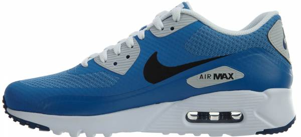 Nike Air Max 90 Ultra Essential Star Blue Black-cstl Blue-pure Platinum 8c636cc4b