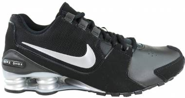 quality design 88c9b c5504 Nike Shox Avenue Leather Black   Metallic Silver Men