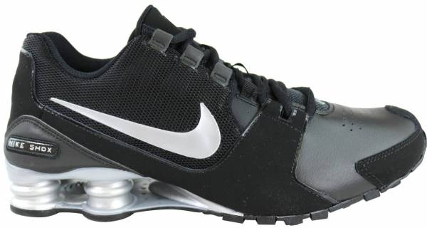 coupon code for all black leather nike shox 2b721 d2b1a