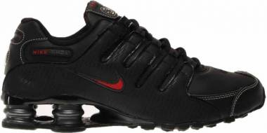 Nike Shox NZ - Black Vrsty Red White Anthrct (378341017)