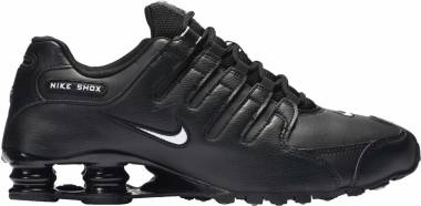 pretty nice 82f32 07071 Nike Shox NZ Black Men