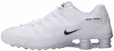 Nike Shox NZ - White/Black/White (501524106)