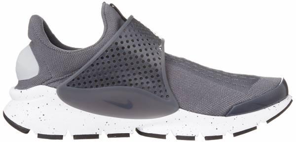Nike Sock Dart - Gris Gris Wolf Grey Wolf Grey White Pink Blast (819686003)