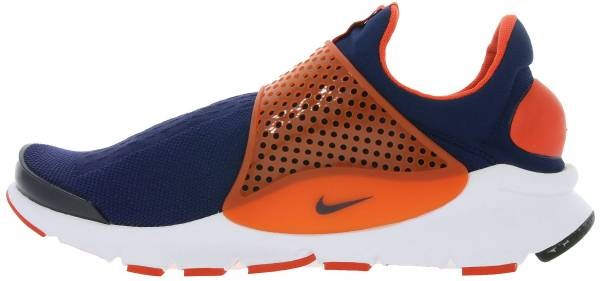 hot sale online 3bb77 f1e72 Nike Sock Dart Blue   Orange