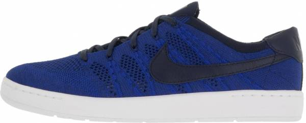 Ingresos comprar Margaret Mitchell  Nike Tennis Classic Ultra Flyknit sneakers in blue + red (only $80) |  RunRepeat