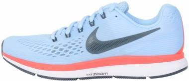 Nike Air Zoom Pegasus 34 - Ice Blue, Blue Fox (880555404)