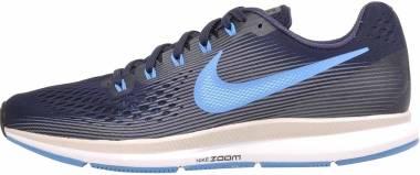 Nike Air Zoom Pegasus 34 - Obsidian Blue Hero Gunsmoke 411