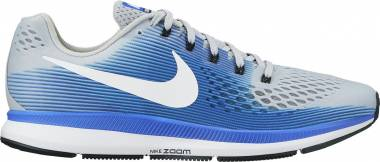 Nike Air Zoom Pegasus 34 - wolf grey white racer blue (880556007)