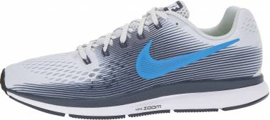 Nike Air Zoom Pegasus 34 - Pure Platinum/Photo Blue