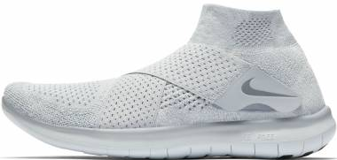 Nike Free RN Motion Flyknit 2017 White Men