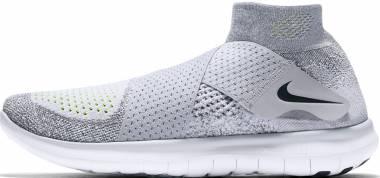 Nike Free RN Motion Flyknit 2017 - Wolf Grey Black Cool Grey Volt