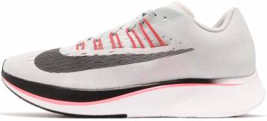 Nike Zoom Fly - Multicolore (Barely Grey / Oil Grey / Hot Punch / White 009)