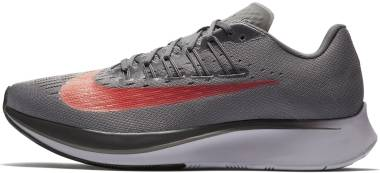 Nike Zoom Fly - Gris (Gunsmoke/Bright Crimson/Thunder Grey 004)