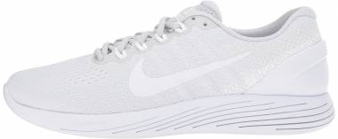 Nike LunarGlide 9 Pure Platinum/White-white Men