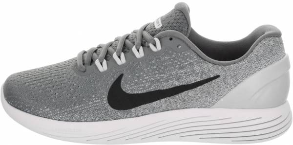 Nike Performance LUNARGLIDE 9 X PLORE Stabilty running shoes sail/wolf grey/pure platinum 34ruGH7w