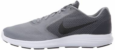 Nike Revolution 3 - Cool Grey/Black/White