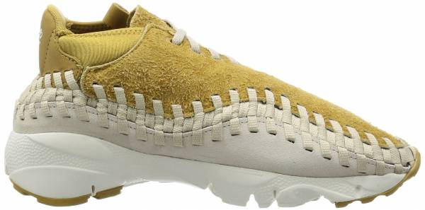 sports shoes f4d3a 09f72 Nike Air Footscape Woven Chukka QS Beige