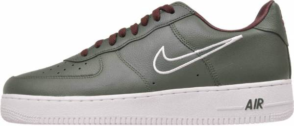 detailed look 716b6 454d9 Nike Air Force 1 Low Retro Deep Forest, White-el Dorado
