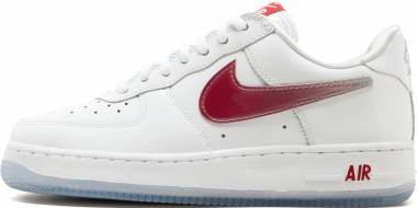 Nike Air Force 1 Low Retro - white, varsity red
