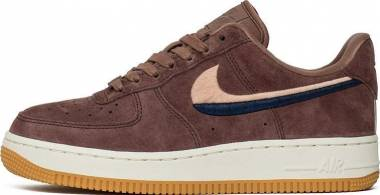 Nike Air Force 1 07 - Purple Smokey Mauve Smokey Mauve Gum Yellow 203