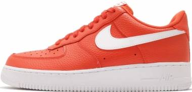 Nike Air Force 1 07 Orange Men