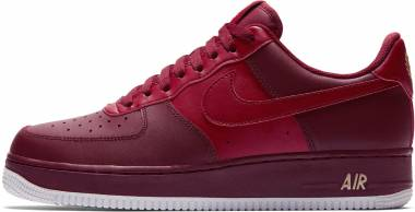 quality design f9557 5607d Nike Air Force 1 07 Red Men