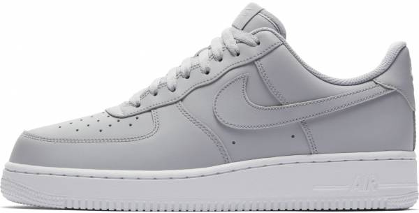 cheap for discount ed722 ff387 Nike Air Force 1 07 Grey (Wolf Grey White 010)