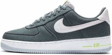 Nike Air Force 1 07 - Ozone Blue/White-barely Volt (CN0866001)