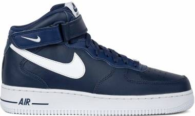 Nike Air Force 1 07 Mid - Midnight Navy White