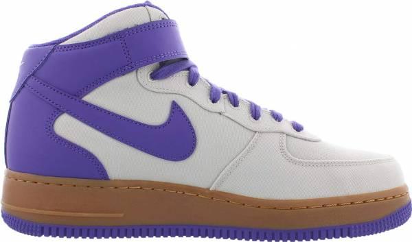 Nike Air Force 1 07 Mid - Light Bone/Dark Iris